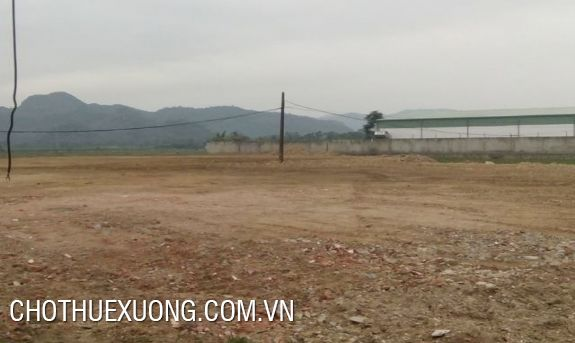1,4ha land and factory for sale in Cao An, Cam Giang, Hai Duong