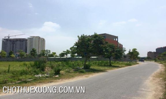 8000sqm land for sale in Khai Son industrial zone, Bac Ninh
