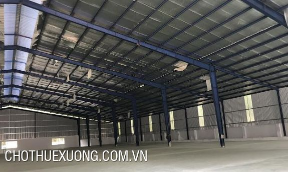 Factory for lease in Nguyen Khe industrial zone, Dong Anh, Hanoi