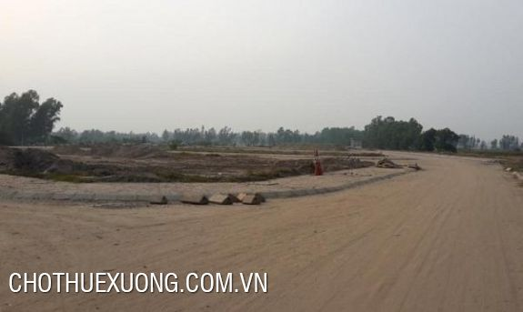 Land for sale in Dai An industrial zone, Hai Duong many areas