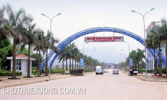 4000m2 land for sale in Luong Son industrial cluster, Hoa Binh