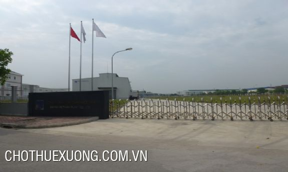 4ha land for sale in Lai Cach industrial zone, Cam Giang, Hai Duong