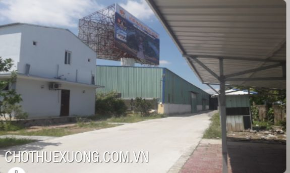 1200m2 factory for lease in Hai Duong city good location
