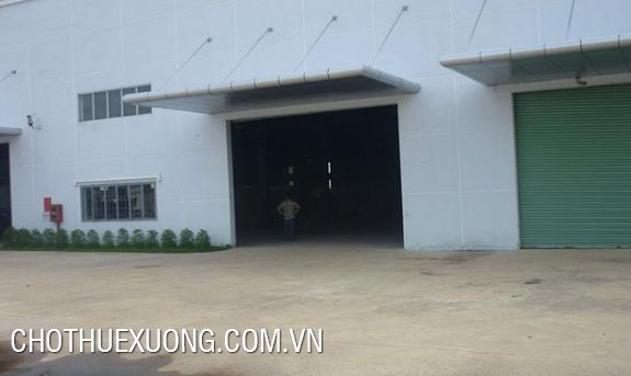 6000m2 nice factory for rent in Hai Duong city, on national highway 5