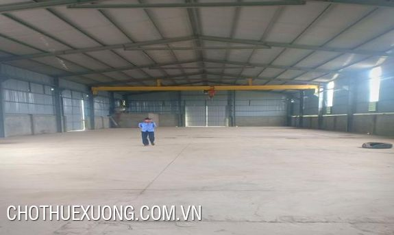 900m2 factory for lease in Nguyen Khe, Dong Anh, Hanoi