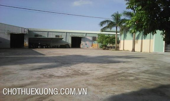 1.650m2 factory for lease in Phu Minh, Soc Son, Hanoi