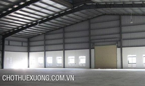 5000m2 factory for lease in Quang Minh industrial zone, Me Linh Hanoi
