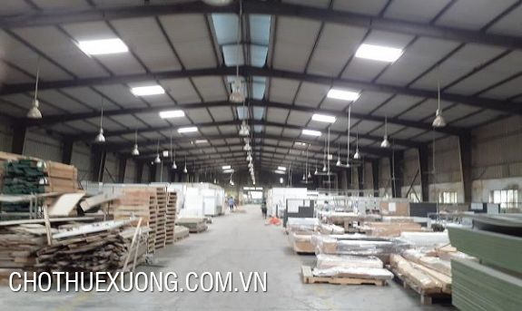 Nice factory for lease in Tan Hong industrial zone, Tu Son, Bac Ninh