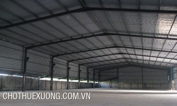 5000m2 factory for rent in Thanh Liem Ha Nam good location