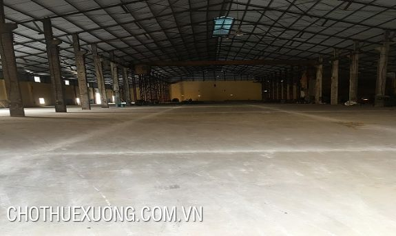 12.000m2 factory for lease in Bac Giang city