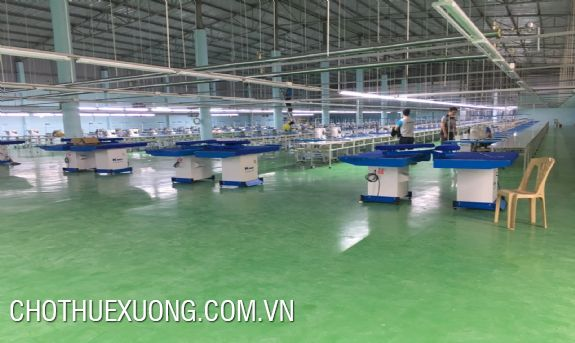 For lease nice textile factory in Thanh Hoa city