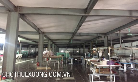 Nice factory for lease in Minh Duc industrial zone, My Hao, Hung Yen
