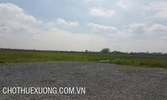 Land and factory for sale in Ngoc Hoi industrial zone, Thanh Tri Hanoi