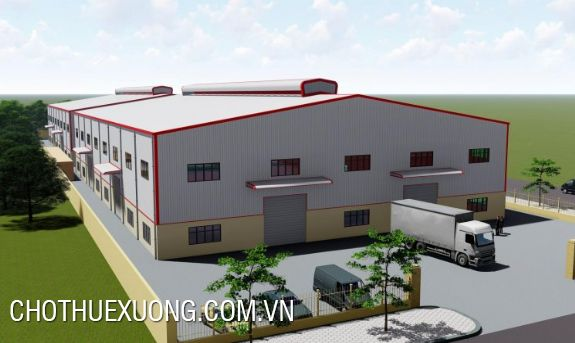 Modern factory for lease in Dong Quang industrial zone, Tu Son, Bac Ninh