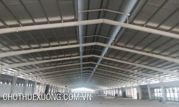 Newly-built factory project for lease in Hai Hau, Nam Dinh cheap price