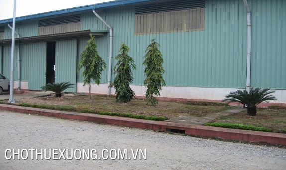 1,3ha nice factory for lease near Que Vo 2 industrial zone, Bac Ninh