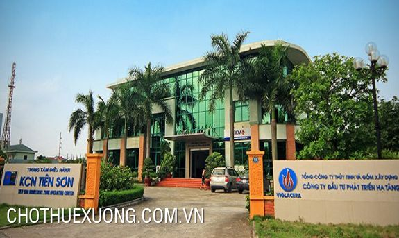 6000m2 factory for lease in Tien Son industrial zone, Bac Ninh