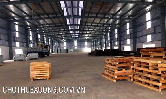 1000m2 factory for rent in Binh Xuyen industrial zone, Vinh Phuc