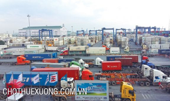 Warehouse and container depot for lease in Dinh Vu port, Hai Phong