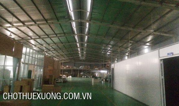 2500m2 factory for rent in Nguyen Khe industrial zone, Dong Anh, Hanoi