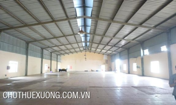 1300m2 nice factory for lease in Hai Duong city in a site of 3500m2