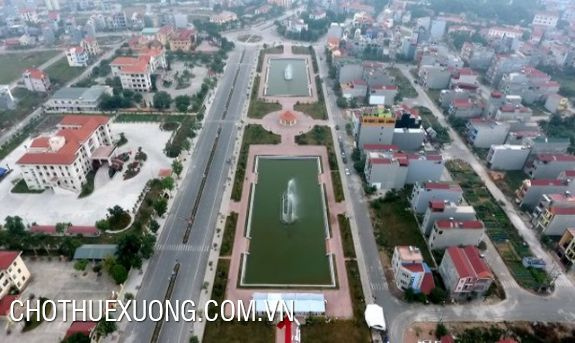 Land and factory for transfer in Yen Phong, Bac Ninh