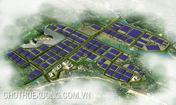 Land for sale in Mong Hoa industrial park, Hoa Binh 15.000m2