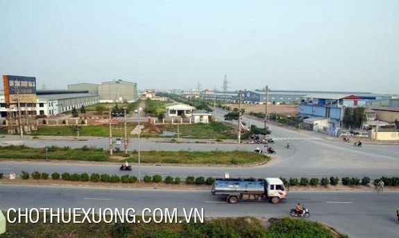 Factory for lease in Hoa Xa industrial park, Nam Dinh city 850m and 1000m2, 1.7usd/m2