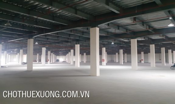 Factory for lease in Yen Phong industrial park, Bac Ninh 11.589m2, 5795m2, 4751m2