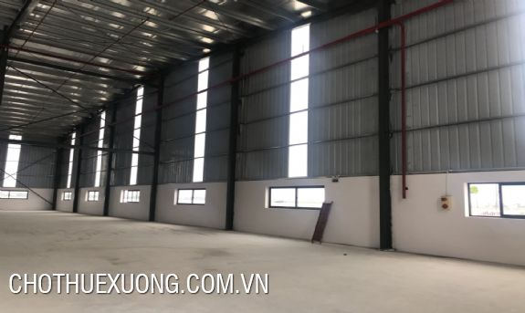 Factory for lease in Hoa Phu industrial park, Bac Giang 3800m2, 4300m2