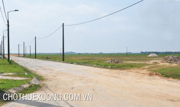 Land for sale in Khanh Phu industrial park, Ninh Binh 11ha