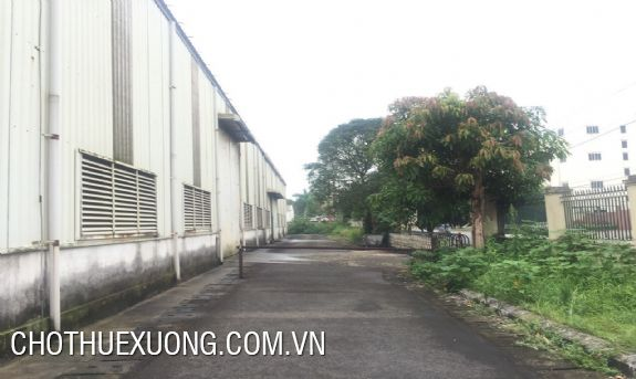 Factory for sale in Thach That-Quoc Oai industrial park, Hanoi 6500m2