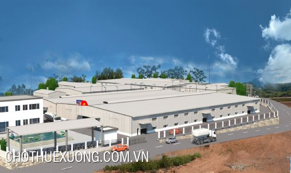 Factory for lease in Son Hung commune, Thanh Son district, Phu Tho