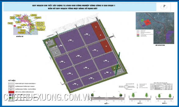 Land for transfer in CN6, CN7 of Song Cong industrial park, Thai Nguyen